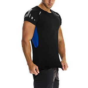 unitop Men's Sports Shirts Moisture Wicking Athletic T-Shirts now 50.0% off