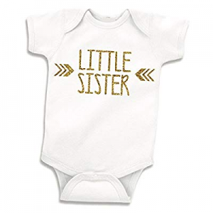 Bump and Beyond Designs Little Sister Shirt now 40.0% off , Baby Girl Outfit, Newborn Girl Outfits..