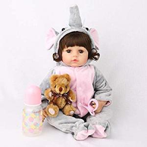 CHAREX Realistic Reborn Baby Dolls 18 inches now 50.0% off , Lifelike Handmade Newborn Girl Weight..