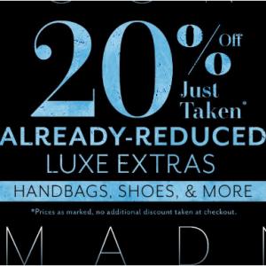 Rue La La 精选时尚大牌美包、美鞋等折上折特卖 Valentino、Bally、Gucci、Balenciaga等都参加
