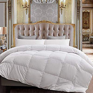 55.0% off Yalamila Lightweight Down Comforter with Corner Tabs-All Season Quilted Duvet Insert Bed..