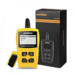 15.0% off AUTOOL OBDII OBD2 Code Reader Auto Car Scanner Battery Tester Car Engine Diagnostic Tool..