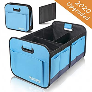 One Day Only!Homeve Car Trunk Organizer, Collapsible Storage Box, Perfect for Any Car SUV Trunk Si..
