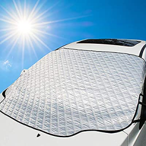 "Mumu Sugar Car Windshield Sun Shades(57.8"" x 45.7"")- Blocks UV Rays Sun Visor Protector now 50.0% .."