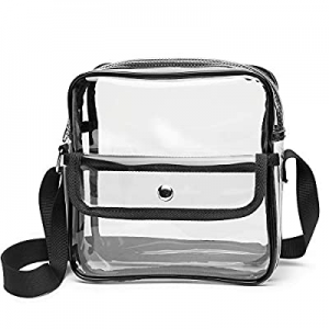 Clear Bag NFL Stadium Approved, Veckle Clear Purse Crossbody for Women now 45.0% off