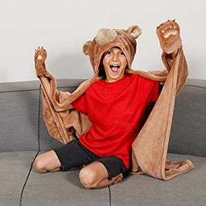 70.0% off Kanguru Wearable Bear Hooded Blanket Gifts for Boy 5 6 7 8 9 10 Year Old- Fun Christmas ..