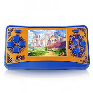 One Day Only!QoolPart Handheld Game Console for Children now 50.0% off , Retro Arcade Video Gaming..