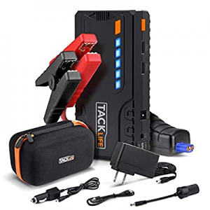 One Day Only!TACKLIFE T6 800A Peak 18000mAh Car Jump Starter (up to 7.0L Gas now 32.0% off , 5.5L ..