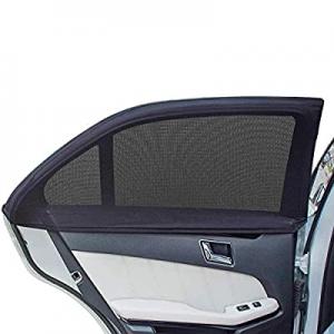 AUGOLA Car Rear Side Window Sunshades now 40.0% off ,Universal Car Rear Window Sun Shade,Breathabl..