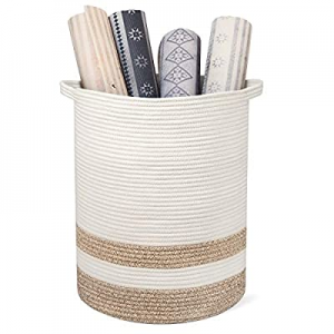 """RUNKA Extra Large Storage Basket 16"""" x 19"""" now 50.0% off , Soft Woven Large Basket with Handles,Ex.."""