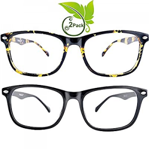 One Day Only!FEIYOLD Blue Light Blocking Glasses Women/Men for Computer Use now 50.0% off , Lightw..