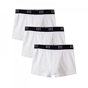 CYZ Men's 3-PK Cotton Stretch Boxer Briefs and Trunks for Men Pack of 3 now 25.0% off