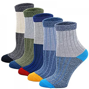 Boys Ankle Socks Girls Fashion Cotton Socks Kids Soft Warm Sports Athletic Socks 5 Pairs now 60.0%..