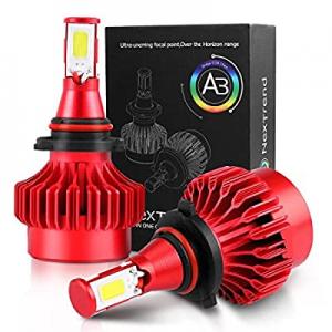 9005 9006 LED Headlight Bulbs 2 Packs 40W now 80.0% off ,NexTrend 360° Beam Angle 6000K 8000LM Bri..