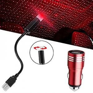 CIIHON Interior Light USB Star Decoration Atmosphere Lights now 70.0% off , Romantic Auto Roof Sta..