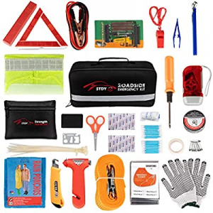 STDY Car Roadside Emergency Kit now 40.0% off , Auto Vehicle Truck Safety Emergency Road Side Assi..