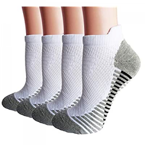 Women's Ankle Running Socks Athletic Cushion Socks 4 to 6 Pack now 50.0% off