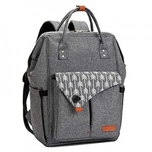 Lekebaby Diaper Bag Backpck now 30.0% off , Multifunction Large Capacity Water Resistant Travel Ba..