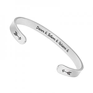 70.0% off BTYSUN Inspirational Bracelets for Women Teen Girls Personalized Birthday Cuff Bracelet ..