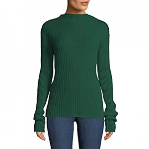 Cutiefox Women's Long Sleeve Fitted Slim Sweater Crewneck Knit Pullover Top now 51.0% off