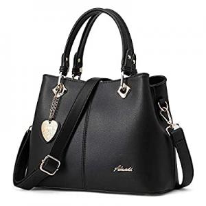 30.0% off Women's Purses and Handbags for Women Satchel Bag Ladies Tote Shoulder Bag PU Leather Cr..