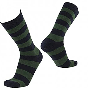 NEVSNEV Women's Men' s Casual Dress Socks Cotton Colorful Argyle Stripe Patterned 1 2 3 PAIR now 8..