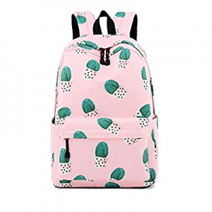 One Day Only!Joymoze Water Resistant Leisure Student Backpack Cute Pattern School Book Bag for Gir..