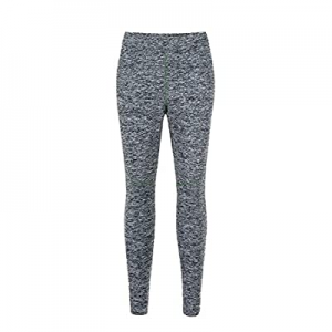 One Day Only!70.0% off Women's High Waisted Mesh Insert Yoga Leggings Work-from-Home Leggings Supe..