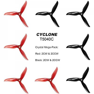 FALCORC DALPROP Cyclone T5040C Propeller now 50.0% off , 3 Leaf Props Tri-Blade High-Speed Propell..