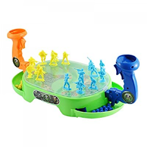TOY'N Bounce War Marble Shooting Toy now 35.0% off , Awesome Gift for Kids, Two Player Versus Game..