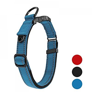 TAKEBEST Solid Color Nylon Dog Collar No Pull now 60.0% off , Strong and Durable, Correction and T..