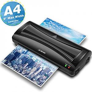JZBRAIN Laminating Machine now 50.0% off , A4 Laminator Machine, 9 inches Thermal Laminator, Fast ..