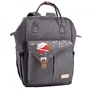 Lekebaby Diaper Bag Backpack with Changing pad Large Capacity Baby Backpack now 52.0% off