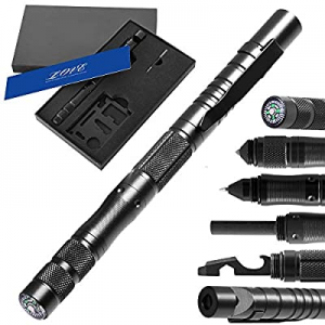 misuki Gifts for Men Dad now 50.0% off ,Tactical Pen (8-in-1),Cool & Unique Anniversary Birthday G..