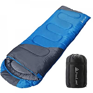 One Day Only!FreeLand Camping Sleeping Bag for Adults for Backpacking, Hiking & Traveling now 40.0..