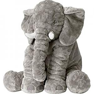 Tuko Big Elephant Stuffed Animals Plush Toy now 40.0% off ,Stuffed Elephant Cushion Doll Toy for K..