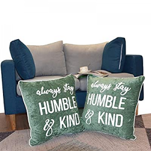 50.0% off Hahadidi Set of 2 Throw Pillow Covers 20 x 20 Inch(50x50cm) Soft Embroidered Pillowcases..