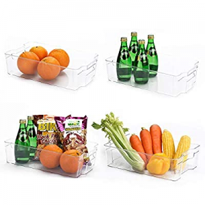 Glotoch Plastic Storage Organizer Container Bins Holders with Handles - for Kitchen now 50.0% off ..