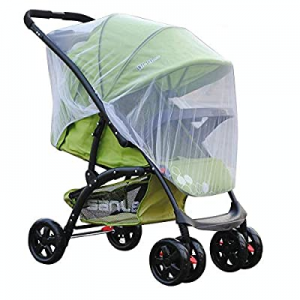 ME Mosquito Net Stroller Crib,Child Carrier Carriage Netting Mesh Protection Easy Installation now..