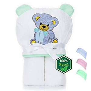 Organic Bamboo Hooded Baby Towel – Soft now 50.0% off , Hooded Baby Bath Towels, Large Toddler Bat..