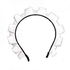 MAYSONG Women's Lolita Maid Cosplay Hair Hoop Gothic Headband now 15.0% off