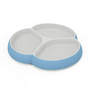 Silicone Baby Plates with Suction - SILIVO Non Slip Toddler Plates now 35.0% off , Divided Plates,..