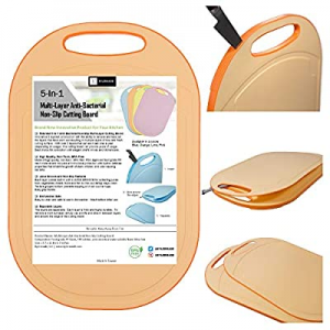 Kylermade (5 Layers) Multi-Layer Anti-Bacterial Non-Slip Cutting Board now 20.0% off , Innovative ..
