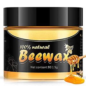 Wood Seasoning Beewax now 50.0% off , Multipurpose Natural Wood Wax Traditional Beeswax Polish wit..