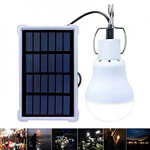 Solar Lights Rechargeable Solar LED Light Bulb Portable Lamp KGS-1200 for Indoor Outdoor Garden Sh..