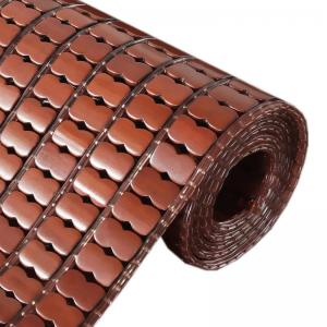 立减CNY¥15,夏季凉席沙发垫欧式客厅沙发凉坐垫麻将竹垫子凉垫飘窗垫椅垫定做 咖色全竹 45*45