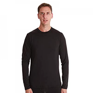 One Day Only!At The Buzzer Men's Long Sleeve Thermal Shirt Compression Base Layer Mock Neck Top no..