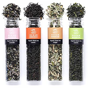 20.0% off Organic Loose Leaf Green Tea Sampler - USDA & GFSI (Global Food Safety Initiative) - Aut..