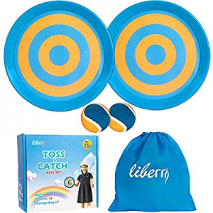 50.0% off Liberry Paddle Toss and Catch Ball Set-Upgraded Version 8 Inch Paddle Catch Games Toy fo..