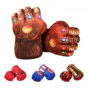 illuOKey Thanos Gloves for Kids now 50.0% off , XIANGQUANWANG Thanos Foam Hands, Premium Quality 3..